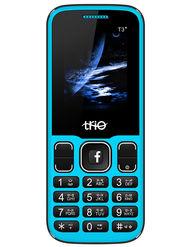 Trio T3 Star Dual Sim Feature Phone (Blue Black)