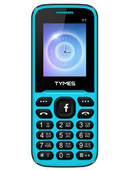 TYMES Y1 Dual SIM Feature Phone (Blue Black)