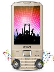 ZEN M88 King Dual SIM Feature Phone (Gold)