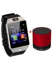 VIZIO combo of Z01 Smart Watch( SIM, Camera, 32 GB Expandable Memory ) With Bluetooth Speaker
