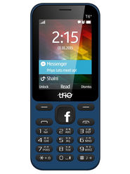 Trio T6 Star New Dual SIM Feature Phone(Blue Black)