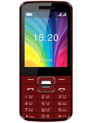 Videocon Virat V3AB Dual SIM Feature Phone (Black-Red)