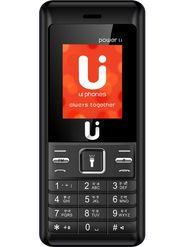 ui phones Power 1.1 Dual Sim Feature Phone (Black Grey)
