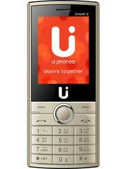 ui phones Power 2 Dual Sim Feature Phone (Champange)