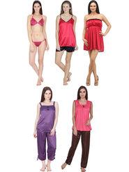 Pack of 9 Klamotten Polyester Nightwear - Nt05