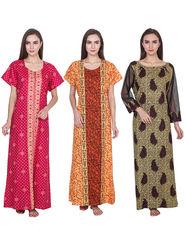 Pack of 3 Klamotten Cotton Nightwear - Nt06