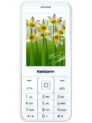 Karbonn K Phone 1 Dual SIM Basic Feature Phone (White Champ)