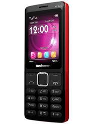Karbonn K9 Spy Dual SIM Basic Feature Phone (Black Red)