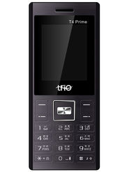 Trio T4 Prime Dual SIM Feature Phone (Black Orange)