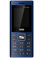 Trio T4 Prime Dual SIM Feature Phone (Blue Black)