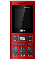 Trio T4 Prime Dual SIM Feature Phone (Red Black)