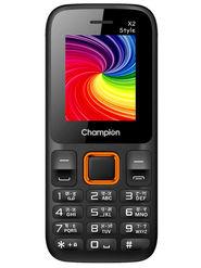 Champion X2 Style Dual Sim Feature Phone (Orange)
