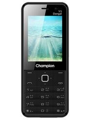 Champion Y3 Dangal Dual Sim Feature Phone (Black)
