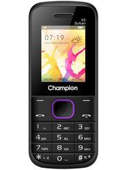 Champion X3 Sultan Dual Sim Feature Phone (Purple)