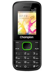 Champion X3 Sultan Dual Sim Feature Phone (Green)