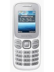 Rocktel W7 Dual Sim Feature Phone (White)