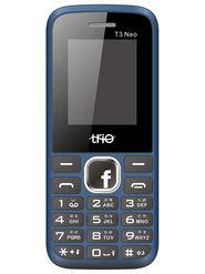 Trio T3 Neo Dual SIM Feature Phone (Blue Black)
