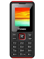 Ziox Z23 Dual SIM Feature Phone (Black Red)