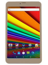 I KALL N1 (RAM : 1GB : ROM : 8GB) 4G Calling Tablet (Golden)