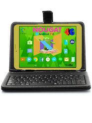 I KALL N1 1GB (RAM : ROM : 8GB) 4G Calling Tablet cum Laptop (Golden)