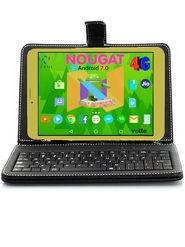 I KALL N1 (RAM : 1GB : ROM : 16GB) 4G Calling Tablet cum Laptop (Golden)