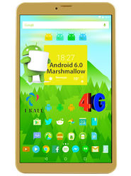 I KALL N1 (RAM : 2GB : ROM : 16GB) 4G Calling Tablet (Golden)