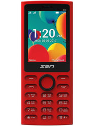 Zen Z15 Dual SIM Basic Phone (Red)