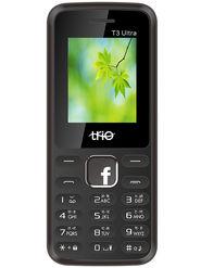 Trio T3 Ultra Dual SIM Feature Phone (Red Black)