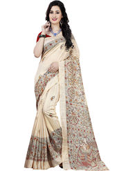 Regalia Ethnic Printed Saree _Rs1007- Golden