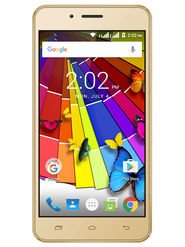 Trio V50DT Dragon Trail Glass 4G VoLTE Smartphone (Golden)