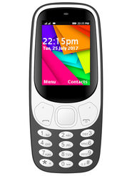 I Kall K35 Dual SIM Full Multimedia Phone (Black)