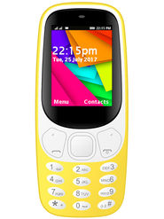 I Kall K35 Dual SIM Full Multimedia Phone (Yellow)