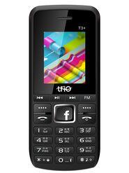 Trio T3 Plus Dual SIM 2500 mAh Feature Phone (Black Blue)