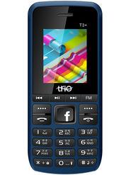 Trio T3 Plus Dual SIM 2500 mAh Feature Phone (Blue Black)