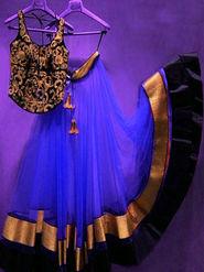 Thankar Latest Arrival Designer Lehenga Choli_Tkr66 - Blue
