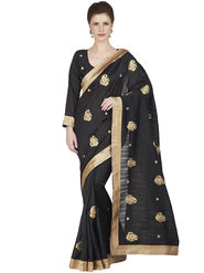 Designersareez Bhagalpuri Embroidered Saree -1847