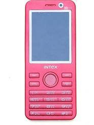 Intex Turbo Duoz Dual Sim Phone - White & Pink