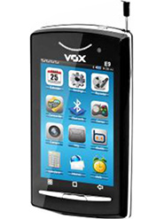VOX 4 SIM Full Touch Screen Slider TV Mobile - E9 - Black