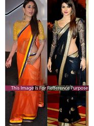 Pack of 2 Arisha Georgette and Net Embroidered Saree - 224+168