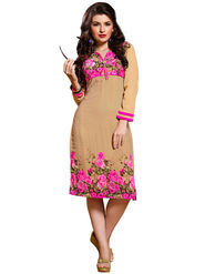 Khushali Fashion Georgette Printed Stitched Kurti -Cnt1755