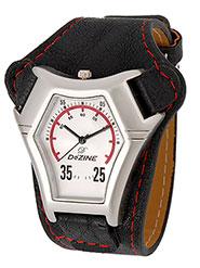 Dezine Wrist Watch for Men - White_DZ-GR081-WHT-BLK