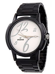 Dezine Wrist Watch for Men - White_DZ-GR093-WHT-CH