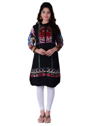 Viva N Diva Georgette Embroidered Kurtis -Ethnic Chic-Vnd-38