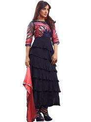 Fabfiza Embroidered Georgette Semi Stitched Anarkali Suit _FBPH14-2034