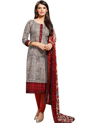 Fabfiza Printed Cotton Semi Stitched Straight Suit_FBVD-009