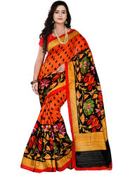 Florence Bhagalpuri silk Printed  Sarees FL-10992