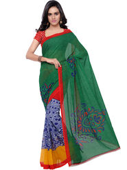 Florence Printed Faux Georgette Sarees -FL-11216