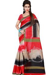 Florence Printed Bhagalpuri Silk Sarees FL-11723