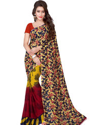 Florence Printed Faux Georgette Sarees FL-11737