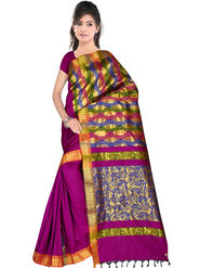 South Silk Handloom Saree -Gkss 1010